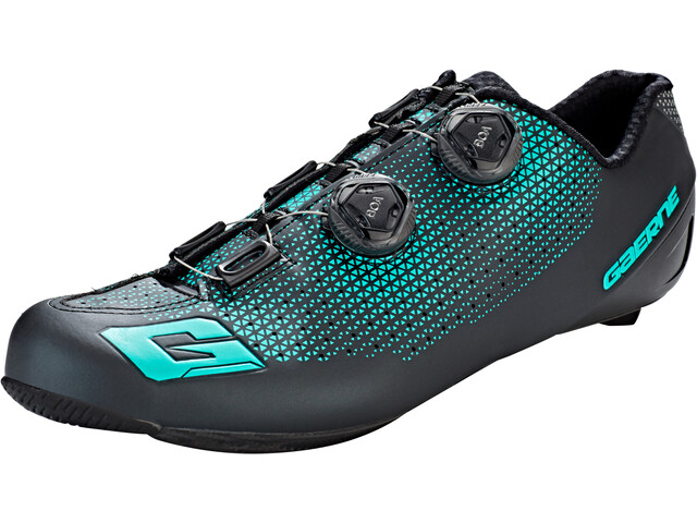 Gaerne Carbon G.Chrono - Chaussures Homme - noir/turquoise